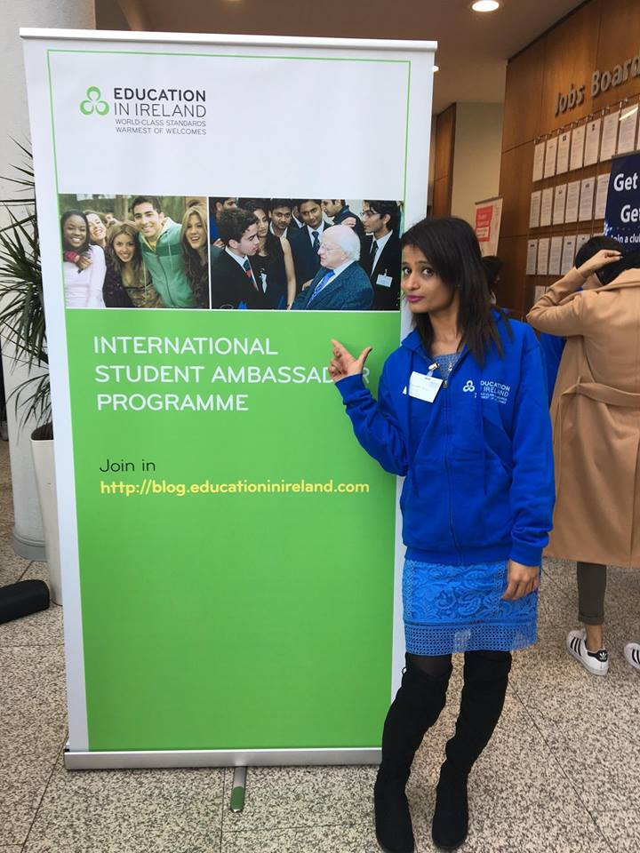 educationinirelandstudentambassadorminalpatel